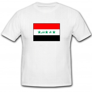 Flagge Irak Nationalflagge Fahne - T Shirt #1171