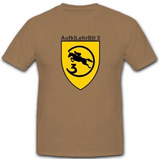 3 AufklLehrBtl Militär Bundeswehr Einheit Bataillon Aufklärer T Shirt #2403