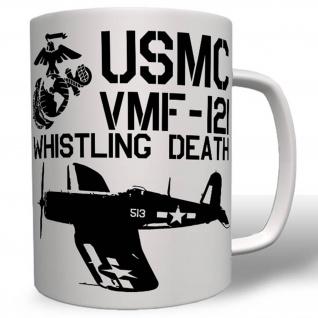 Usaf Death Vmf-121 Whistling Luftwaffe Wappen Abzeichen Usmc Tasse #16502