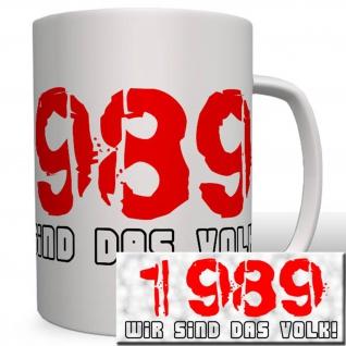 1989 Deutschland Demokratische Republik Ddr Mauerfall Kommunismus - Tasse #16736