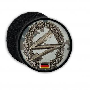 Patch BW Fernmelder Fm Barett Einheit Bundeswehr Patch Wappen Abzeichen #20871