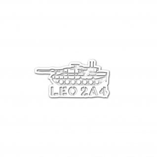 Aufkleber Leo 2A4 Panzer Leopard BW Eisenschwein PzBtl Kompanie 15x8cm #A4722