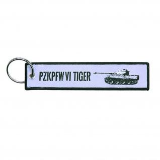 Schlüsselanhänger Tiger Panzer PzKpfw VI keyholder Militär SdKfz#36638