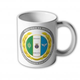 Forcas Armadas do Brasil Brasilien Army Navy Wappen Tasse Becher Kaffee #33392