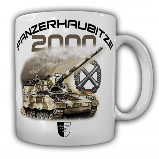 Tasse Lukas Wirp PzH 2000 Panzerhaubitze Artillerie ISAF Panzer BW #23490