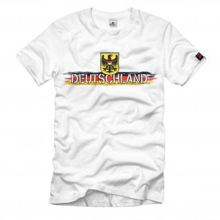 DEUTSCHLAND Fahne Adler Fußball Weltmeisterschaft Sport Hemd T-Shirt#11209