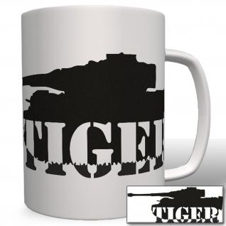 Tiger Panzer - Tasse Becher Kaffee #3925 - Vorschau