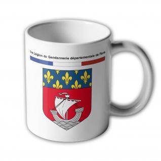 Tasse 1re Légion de Gendarmerie départementale de Paris #33923
