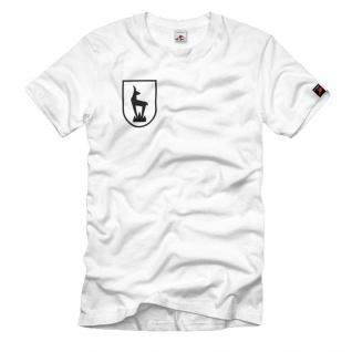 5. Gebirgs Division Gebirgsjäger Wappen Gams Logo Shirt Hemd #34036