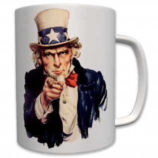 Militär Us Army Uncle America I Want You Marine Corps Usa - Tasse #6436