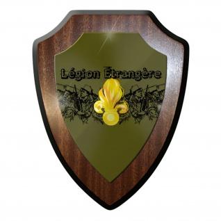 Wappenschild / Wandschild -Legion Etrangere Fremdenlegion Frankreich #9703