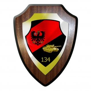 Wappenschild / Wandschild - PzBtl134 Panzerbataillon Panzermann Bundesheer #9741