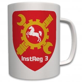 Instandsetzungsregiment 3 Koblenz Bundeswehr Bund Einheit Reg3 - Tasse #7627