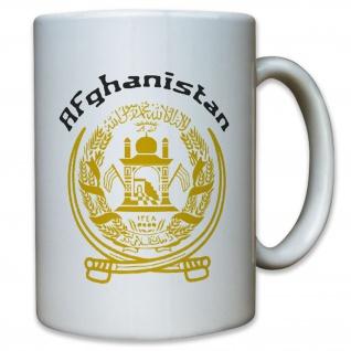 Afghanistan Islamische Republik Islam Emblem Flagge Flag Abzeichen Tasse #12922