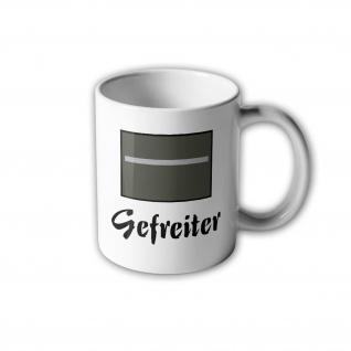 NVA UTV Gefreiter Tasse Ostdeutschland Dienstgrad DDR Aufnäher Wappen#31014