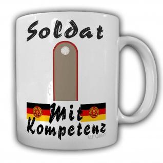 Soldat der Artilliere Tasse NVA Rotearemee Ostdeutschland DDR Genosse #24220