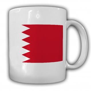 Bahrain Fahne Flagge Königreich - Tasse Becher Kaffee #13355