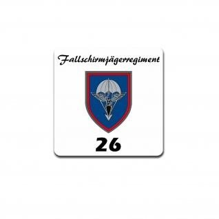 FschJgRgt 26 Fallschirmjägerregiment Bundeswehr BW Kompanie Militär 7x7cm A5277