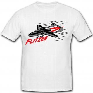 FW Flitzer Luftwaffe Deutschland- T Shirt #8126