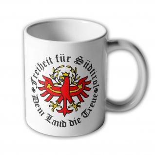 Freiheit für Südtirol - Tasse Becher Kaffee #275