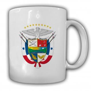 Republik Panama Wappen Emblem Kaffee Becher Tasse #13854