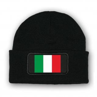 * Mütze / Beenie -Mütze Italien Fahne Wappen Fahne #7034