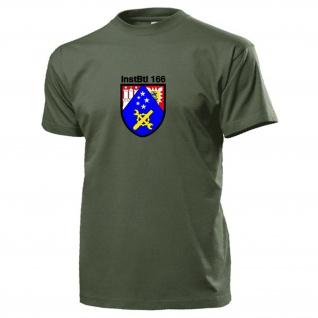 InstBtl 166 Instandsetzungsbataillon Bundeswehr Wappen Abzeichen T Shirt #15654