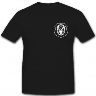 KSK Fernspähabzeichen Brust Kommando Spezial Kräfte FSKP - T Shirt #6558