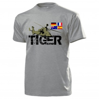 Kampfhubschrauber Tiger Heeresflieger Deutschland Spanien - T Shirt #13262