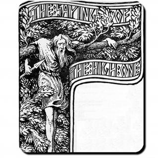 Odin Selbstopfer Weltenbaum Yggrasil Edda W.G Mauspad #16155