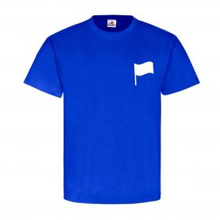 Frankreich Französische Fahne Spass Humor Fun Weiß Mut Stolz T-Shirt #23130