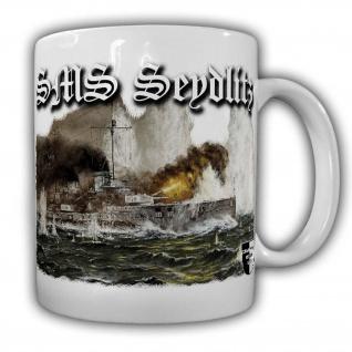 Tasse Lukas Wirp SMS Seydlitz Schiff Erster Weltkrieg Großer Kreuzer #23881