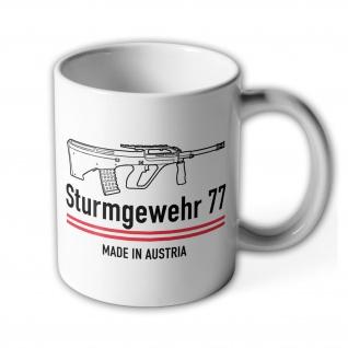Armee Universal Gewehr AUG Sturmgewehr Deko Militär Waffen Österreich #9973
