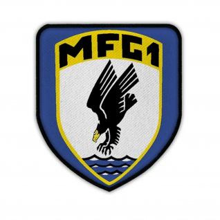 Marinefliegergeschwader 1 MFG1 Wappen Abzeichen BW Marineflieger Aufnäher #17495