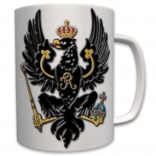 Preußen Adler Deutschland Wappen Geschenk Idee Friedrich - Tasse #7660