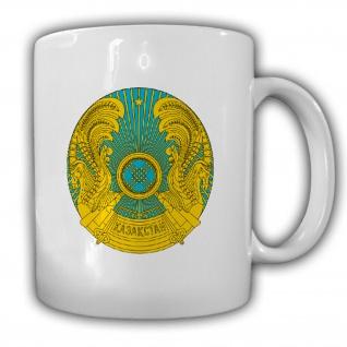 Republik Kasachstan Wappen Kaffee Becher #13538