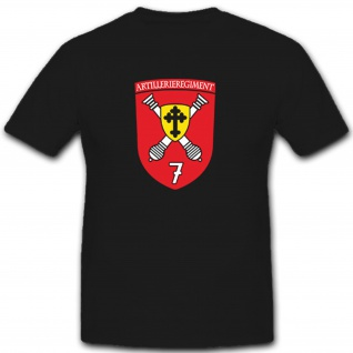 Artillerieregiment 7 Bundeswehr Militär Wappen Abzeichen - T Shirt #8160