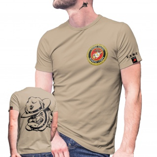 USMC Dog Shirt Einheit USA Marine Corps US United States T-Shirt#29081