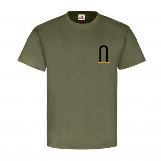 Unteroffizier FA Dienstgrad Bundeswehr Abzeichen Schulterklappe T Shirt #15893