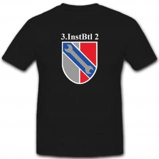 3 Instbtl 2 Instandsetzungsbataillon Emblem Wappen Abzeichen T Shirt #3305
