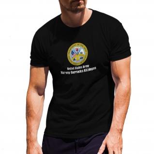 Harvey Barracks Kitzingen - Wappen Abzeichen Militär T-Shirt#30381