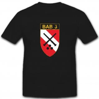 BAB 3 Brigade Artillerie Bataillon Wappen Abzeichen - T Shirt #4124
