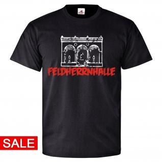 Gr. 2XL - Feldherrnhalle Odeonsplatzes Maxvorstadt München Bayern T-Shirt #R255