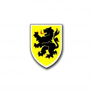 Aufkleber/Sticker 10 PzDiv Panzer Division Heer Veitshöchheim 5x7cm A1187