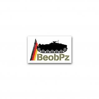 Aufkleber/Sticker BeobPz Beobachtungspanzer Kanonenjagdpanzer 6x7cm A2432