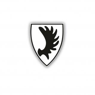Ostpreußen Wappen Elch Elchschaufel Auto Aufkleber Sticker Heimat 6x4cm#A4872