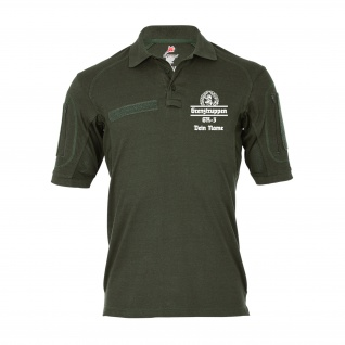 Tactical Poloshirt Grenztruppen TYP 2 Name Personalisiert Grenzbrigade #35395