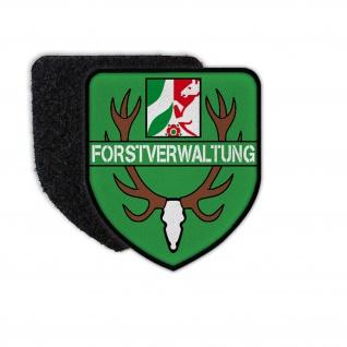 Patch Forstverwaltung Förster Jäger Revier Aufnäher Wappen Abzeichen Wald #34921