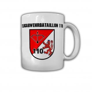 Tasse Flugabwehrbataillon 110 FlaBtl Wuppertal Wappen Abzeichen Bundeswehr#30191