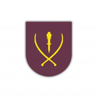 Aufkleber/Sticker 1. Kosaken Division Wappen Abzeichen Emblem 7x6cm A1222
